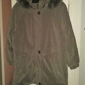 Fleet Street Heavy Winter Coat w/ Detachable Hood